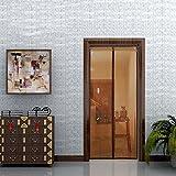 Anti-mücken-magnetische Bildschirm Tür mute im Sommer full frame Klettverschluss Schlafzimmer magnetische Soft-Tür-heavy duty mesh-Sieb Snap automatisch abgeschaltet - ein 95 x 195 cm (37 x 77 Zoll)