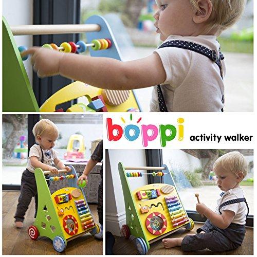 Lauflernwagen für Babys aus Holz von boppi® - Musik - 5