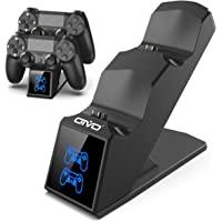OIVO Ricarica Controller PS4, Caricatore Rapido per Joystick PS4 con Indicatore LED, Base di Ricarica Doppia per Sony…