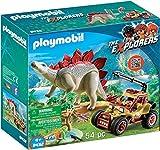 Playmobil Vehículo Explorador con Estegosaurio, multicolor (9432)