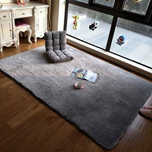 MOMO Teppich lange Haare waschbar Teppich moderne Wohnzimmer Couchtisch Teppich Schlafzimmer Erker Decke großen Teppich mehrere Stile,120 * 170cm,AAA