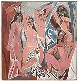 The Museum Outlet–Les _ Demoiselles _ d' Avignon, Stretched canvas Gallery Wrapped. 50,8x 71,1cm