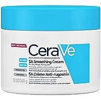 CeraVe SA Crema Levigante | 340 g/12 oz | Idratante per pelle liscia in soli 3 giorni*