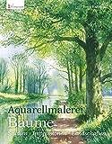 Aquarellmalerei Bäume - Terry Harrison