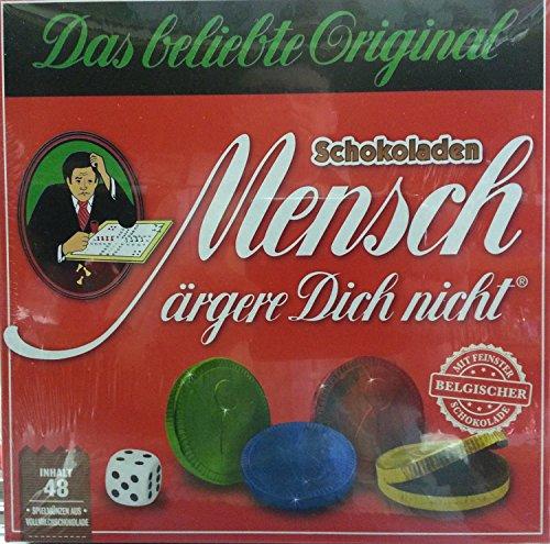 """Schokoladenspiel \""""Mensch ärgere Dich nicht\"""" (1x144g)"""