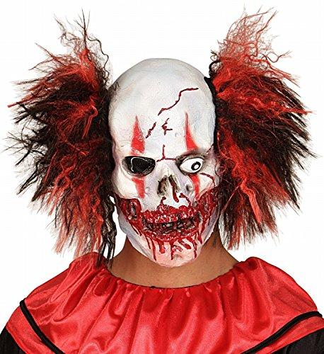 Maschera horror clown halloween