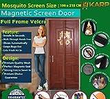 Karp Mosquito Door Net/Curtain - Mag net...
