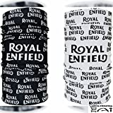 Aanchal International Royal Enfield 13 in 1 Multifuntional headwrap / Bandana 2 piece Combo (Black and White)