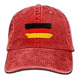 Arsmt Germany Flag Denim Hat Adjustable Men Dad Baseball Hats
