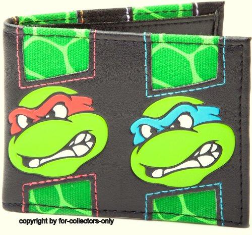 Turtles Geldbeutel Teenage Mutant Ninja Turtles Retro Geldbörse Portemonnaie (Retro Ninja Turtles)