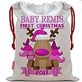 Die besten Boy First Birthday Geschenke - Personalisierte Baby Girl My First Christmas Weihnachten Sack Bewertungen