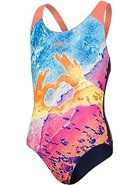4ae24cf4ed03 Speedo Sun Pebble Placement Digital Splashback, Costume da Bagno Unisex  Bambini