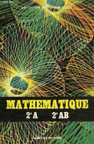 Mathematique, 2e a, 2e ab
