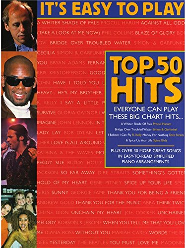 It's Easy To Play Top 50 Hits 2. Partitions pour Piano, Chant et Guitare(Symboles d'Accords)