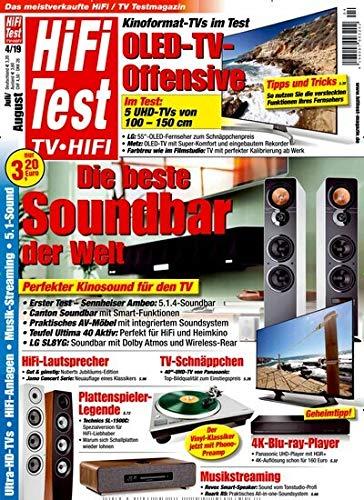 """Hifi Test 4/2019 """"Die beste Soundbar der Welt"""""""