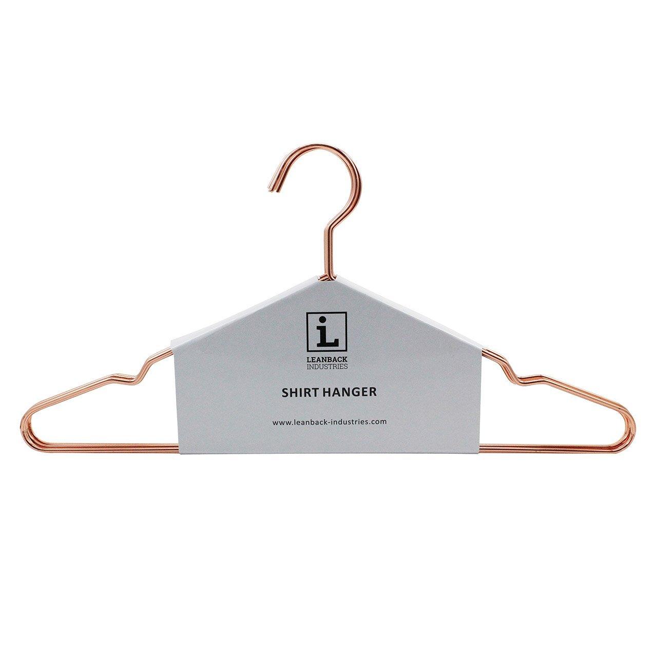 5 x Kleiderbügel Kupfer Rosegold von Leanback Industries I ...