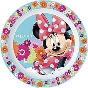Minnie Flower Piatto Piano, Rose, 22 cm