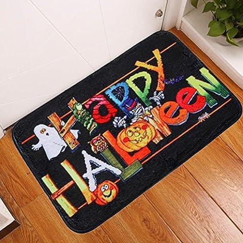 Sansee Tür Matte Eingang Teppich für Halloween (40x60cm, Y0902-28) (Super Easy Halloween-kostüme Für Kinder)