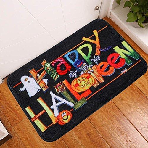 Sansee Tür Matte Eingang Teppich für Halloween (40x60cm, Y0902-28)