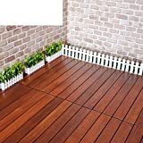 Outdoor Parkette Outdoor Parkette Natural Desinfektionsmittel Wood Floor Balkon Floor Diy Solid Wood Parkette