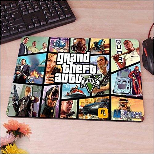 Preisvergleich Produktbild GTA Mauspad Anti-Rutsch, Wasserfest 220x180 Grand Theft Auto