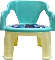Kidzvilla Pop N Up Strong Durable Baby Chair (Aqua Blue)