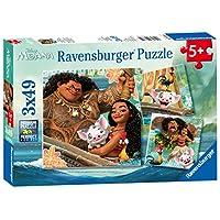 Ravensburger Disney Moana 3x 49pc Jigsaw Puzzles