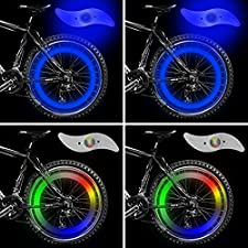 Produktbeschreibung: Geeignet für Mountainbike, Rennrad, Faltrad usw. Sichere Befestigung des Speichenlichtes und gut geeignet für den Einsatz in Freizeit und Beruf.  Diese LED-Leuchte ist beim Fahrradfahren die perfekte Lösung für die nächtliche Sic...