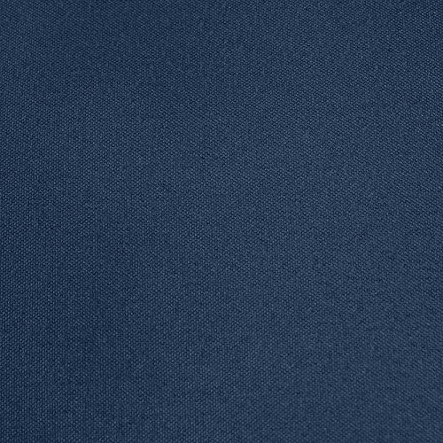 comprare on line AmazonBasics Lenzuolo in microfibra con angoli, Matrimoniale, 160 x 200 x 30 cm, blu scuro prezzo