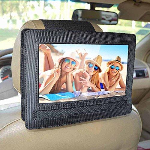Auto KFZ Kopfstützen Halterung für DBPOWER Tragbarer DVD-Player (10.5 Zoll) (Auto Tv Halterung)