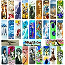 20 assorted 3D BOOKMARKS
