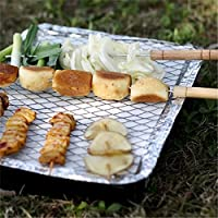 Bazaar Outdoor Disposable Portable Camping Barbecue Instant Grill BBQ Tools