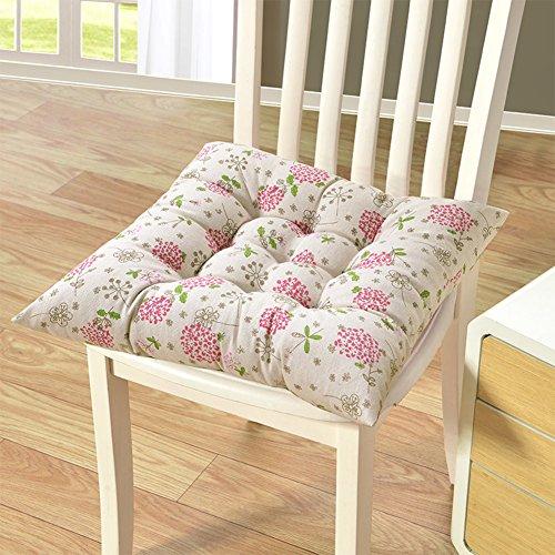 Büro-stuhl-kissen Hocker kissen Thick strap-E 40x40cm(16x16inch)