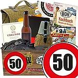 50. Geburtstag | männergeschenke 50 | GRATIS DDR Kochbuch | NVA Box
