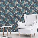 Fine Decor Papier peint Apex à motifs géométriques, moderne, aspect métallique, 3couleurs