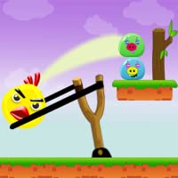 Knock Down : Angry Chicken