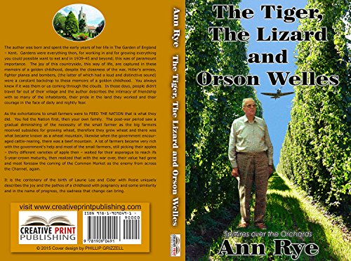 THE TIGER, THE LIZARD AND ORSON WELLES (English Edition) (Tiger Welle)