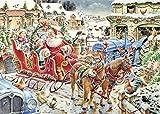 Ravensburger 19021 - Weihnachten auf dem Land, 1000-Teilig Puzzle