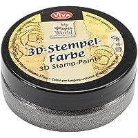 Viva Decor-Mtlc in 3D Stamp Paint