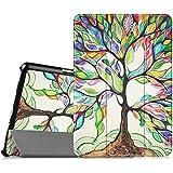 Fintie Samsung Galaxy Tab A 9.7 Funda - Ultra Slim Smart Case Funda Carcasa con Stand Función y Auto-Sueño / Estelar para Samsung Galaxy Tab A 9.7 pulgadas SM-T550N / T555N (Love Tree)