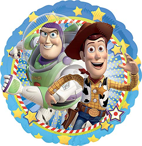 Disney Amscan Standard Größe Folie Woody und Buzz Party Zubehör (Toy Story Party-dekorationen)