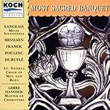 Most Sacred Banquet -