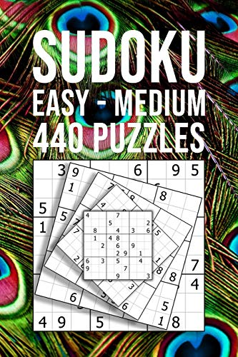 SUDOKU easy - medium | 440 Puzzles: Beginner Collection | Entertaining Game To Keep Your Brain Active