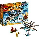 LEGO Legends Of Chima-playthèmes - 70141 - Jeu De Construction - Le Planeur Vautour Des Glaces