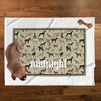 personnalisé Direct minuit personnalisé en peluche pour animal domestique Couverture