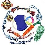 Conjunto de juguetes para perros, Buluri Variety Pet Toys Chew Toys Bozales de algodón resistentes para perros y gatos
