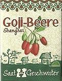 Die Stadtgärtner Goji-Beere-Saatgut | Vitaminbombe aus Fernost | Samen der Sorte