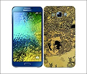 Galaxy Printed 1608 DOODLE SKULL UND Hard Cover for samsung A5