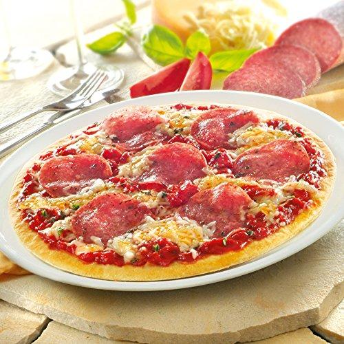 Besser Steinofen-Pizza Salami; 660 g, 2 Stück