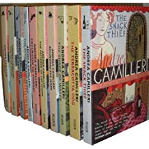 Andrea Camilleri Montalbano Collection 10 Books Set (August Heat,The Paper Mo...